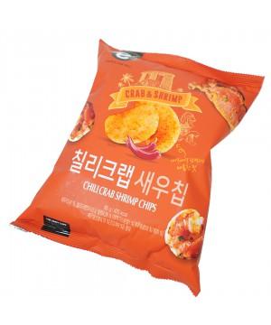 韓國e-mart 香辣炒蟹味脆蝦片 95g