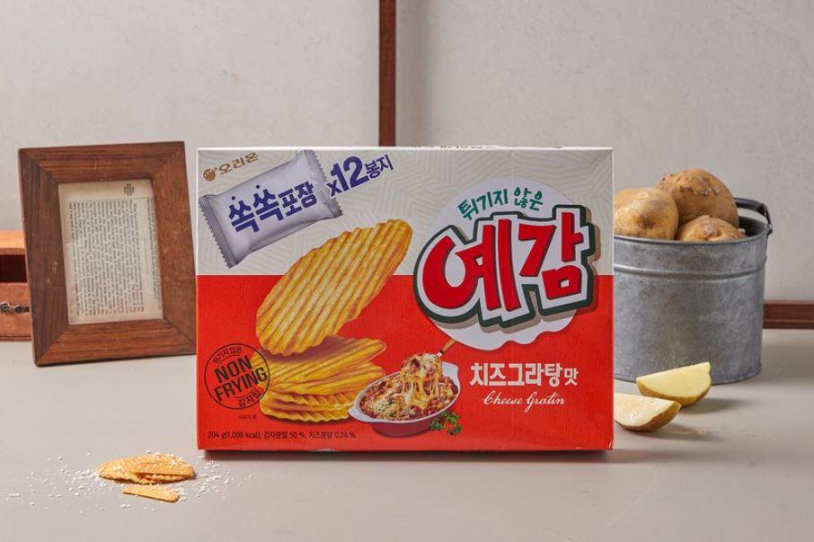 韓國 Orion 芝士味薯片 一盒 12p/204g