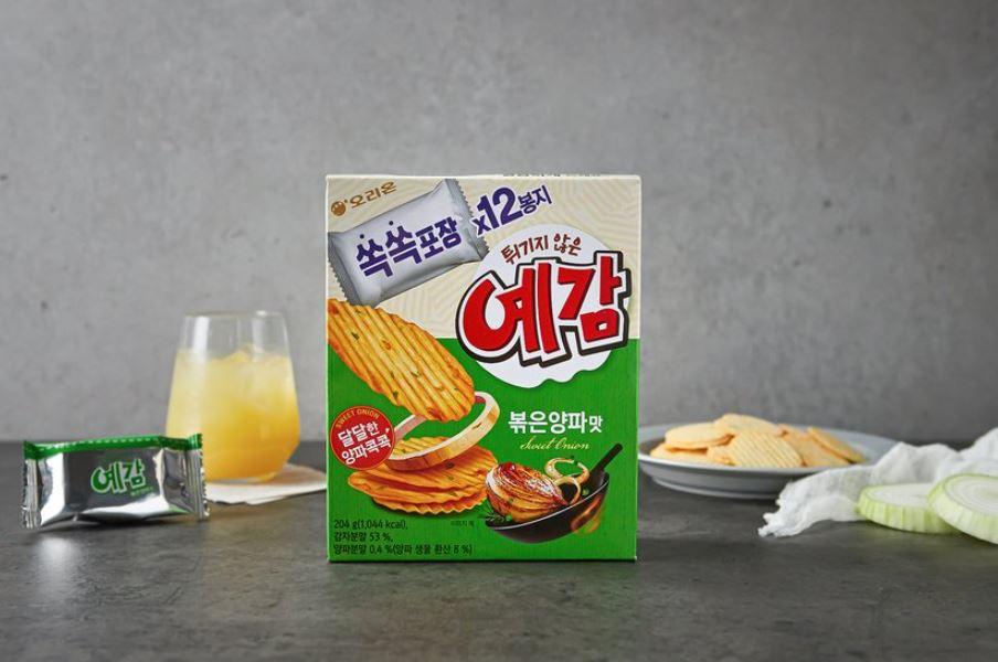 韓囸 Orion 炒洋蔥味薯片 一盒 12p/204g
