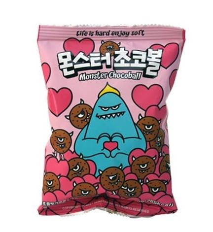 韓國甜心怪獸 朱古力波 50g