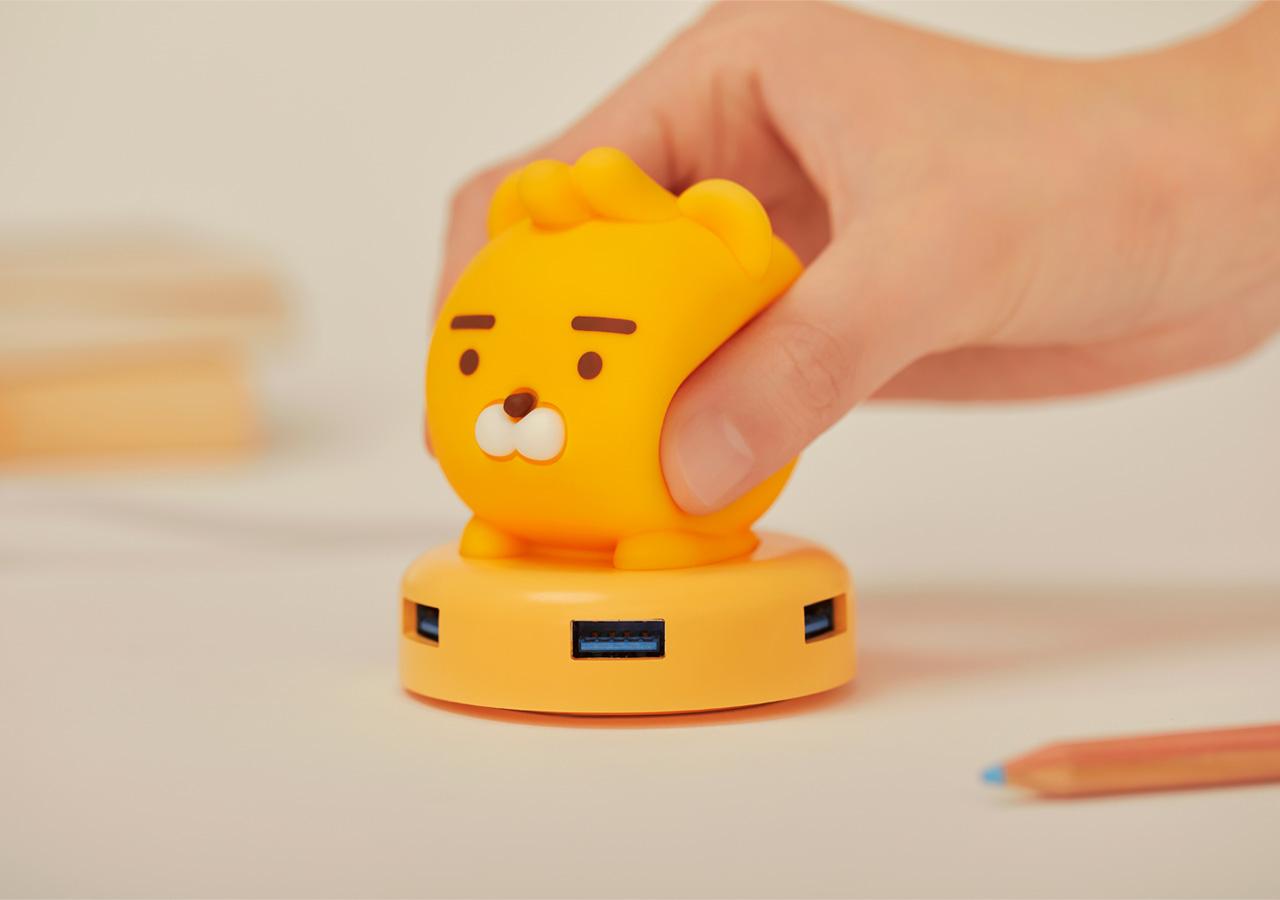 【現貨】kakaofriends - USB Hub 3.0_Ryan♡生活百貨