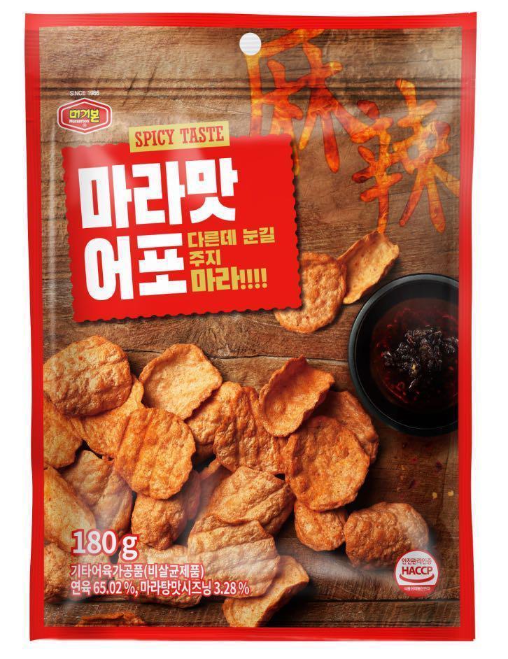 韓國 MURGERBON 麻辣味吞拿魚脆片 180g
